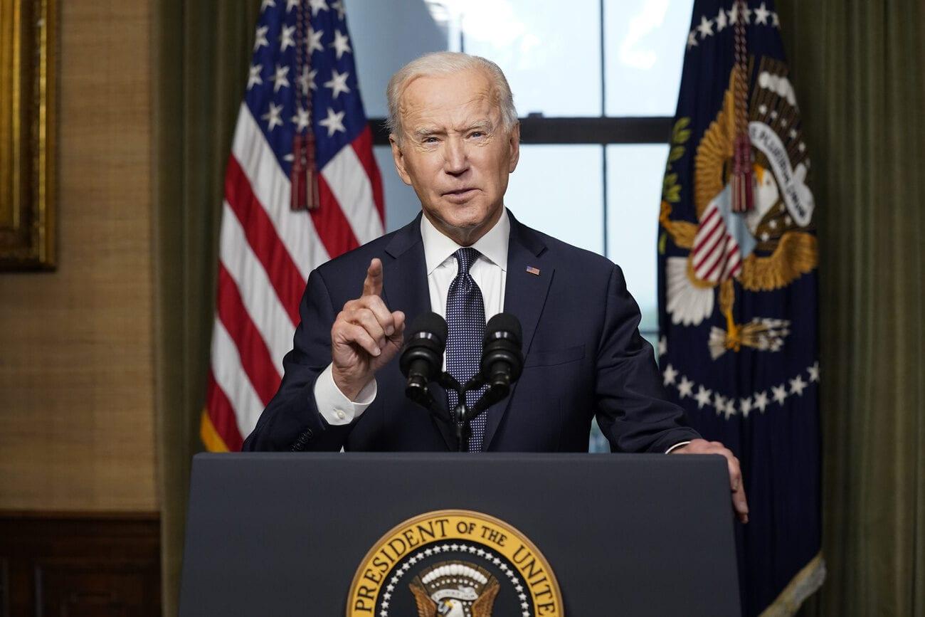 Mercredi 14 avril 2021: Joe Biden annonce le retrait des troupes américaines d'Afghanistan au 11 septembre. [Andrew Harnik