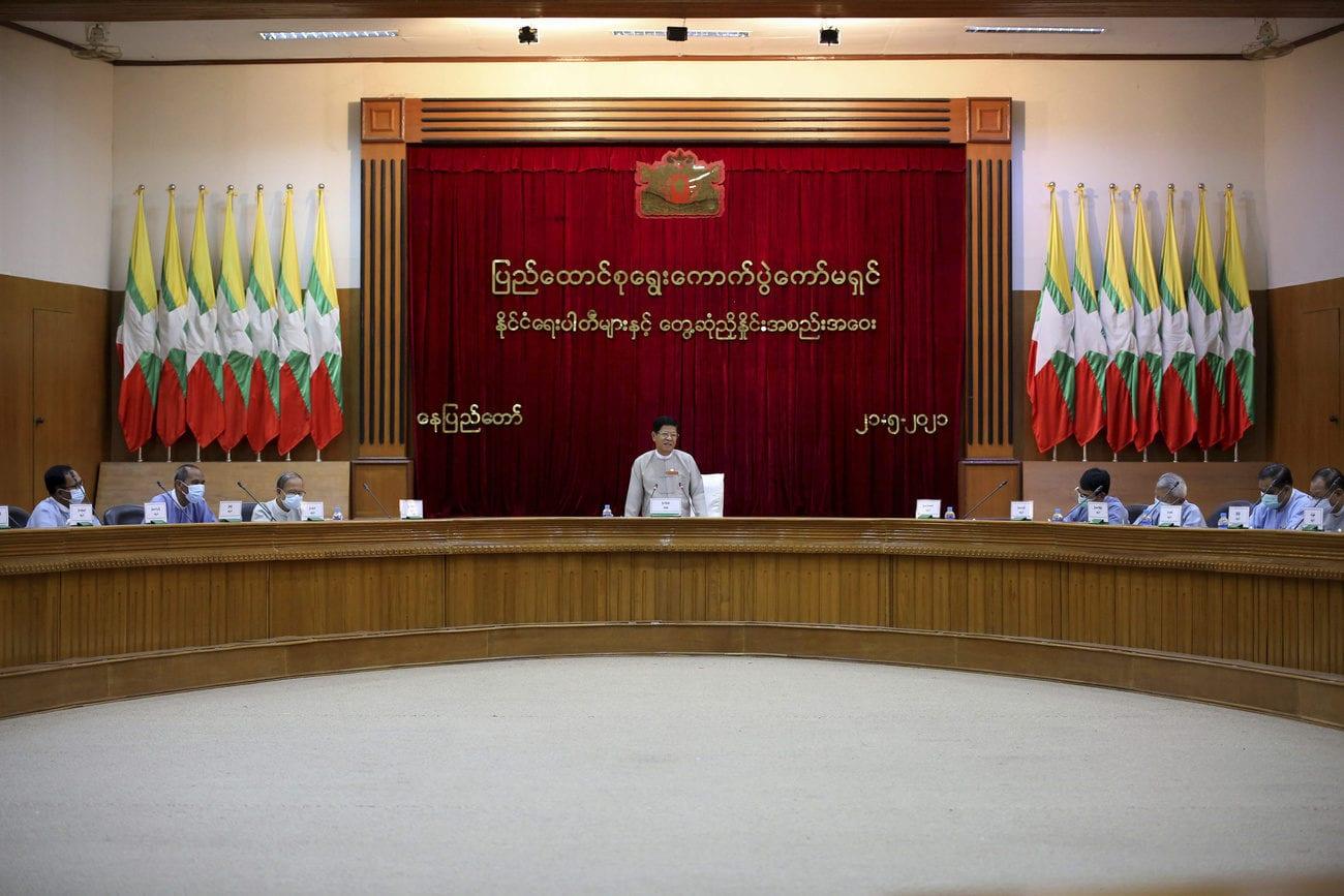 La commission électorale nommée par la junte en Birmanie s'est réunie le 21 mai