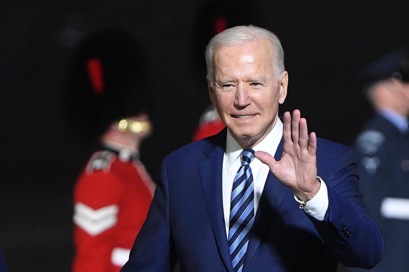 Le président américain Joe Biden arrivera à Genève avec un gros dispositif. [NEIL HALL - EPA]