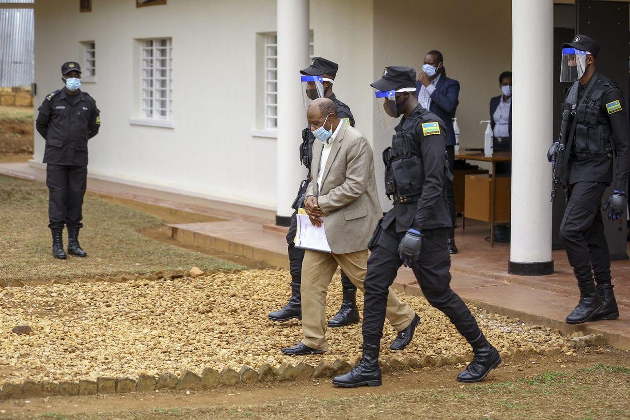Paul Rusesabagina est accusé de soutien au terrorisme par le pouvoir rwandais. [Muhizi Olivier - Keystone/AP]