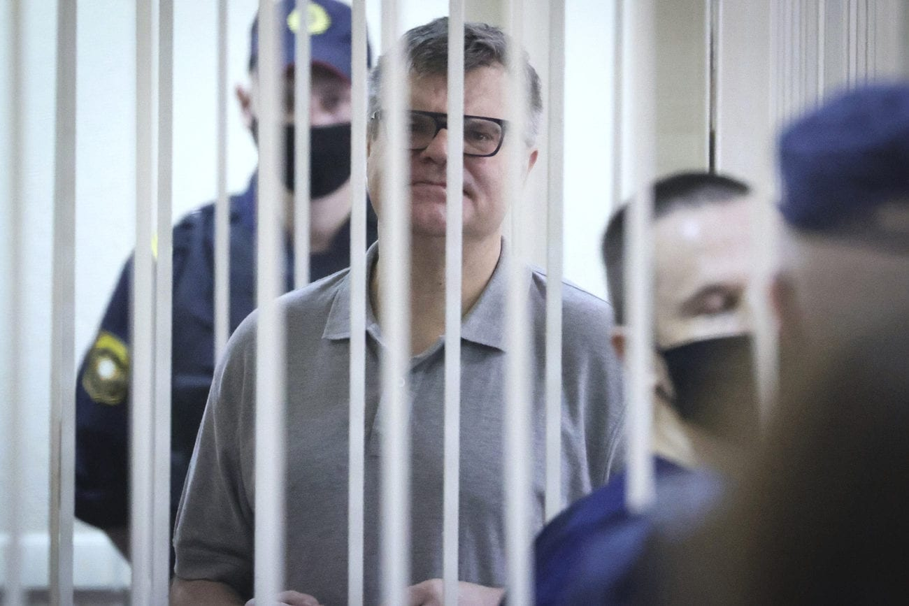L'opposant biélorusse Viktor Babaryko condamné à 14 ans de prison [Ramil Nasibulin - AP]