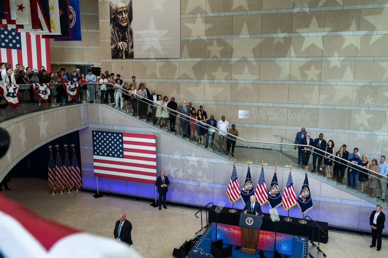 Le président américain Joe Biden s'en est pris mardi dans un discours vigoureux à l'opposition républicaine