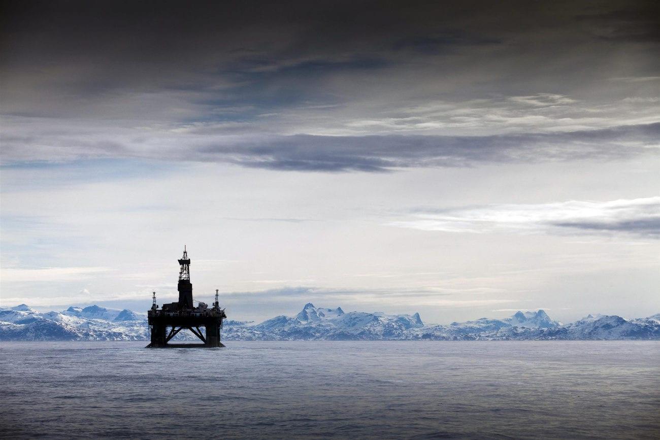 La campagne d'exploration offshore de l'écossais Cairn Energy n'avait rien donné. [Steve Morgan - Grrepeace/AP/Keystone]