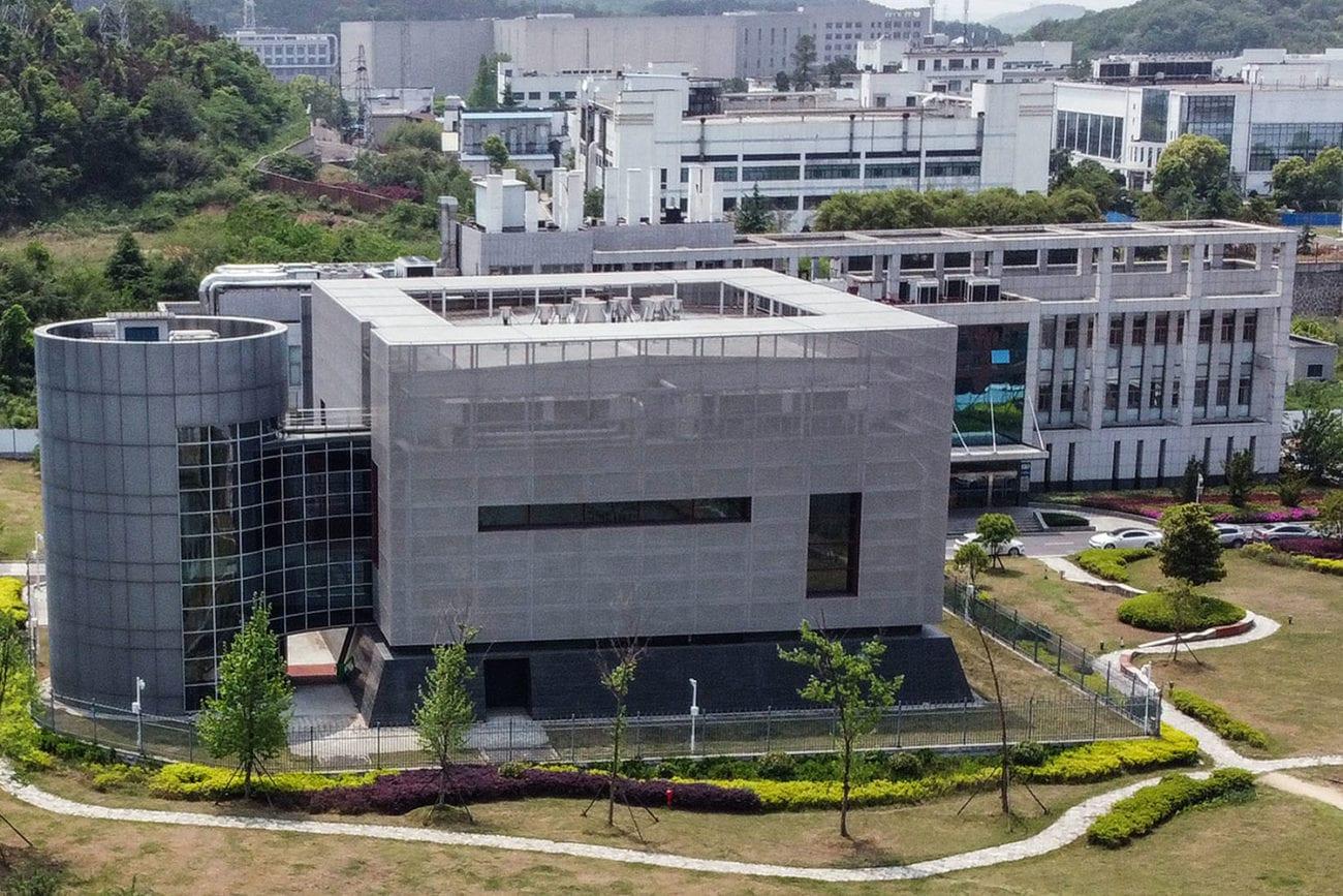 Le laboratoire P4 de l'institut de virologie de Wuhan. [Hector Retamal - AFP]