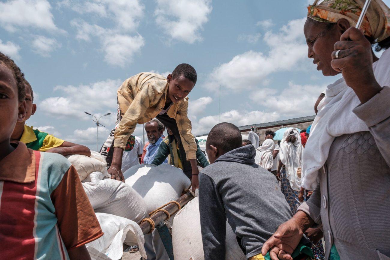 L'aide humanitaire peine à parvenir jusqu'au Tigré. [Eduardo Stoeras - AFP]