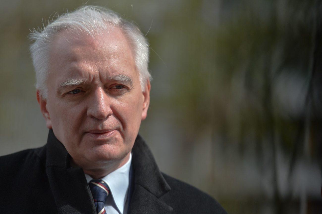 Le vice-Premier ministre Jaroslaw Gowin démis de ses fonctions par le Premier ministre Mateusz Morawiecki. [Artur Widak / NurPhoto - AFP]