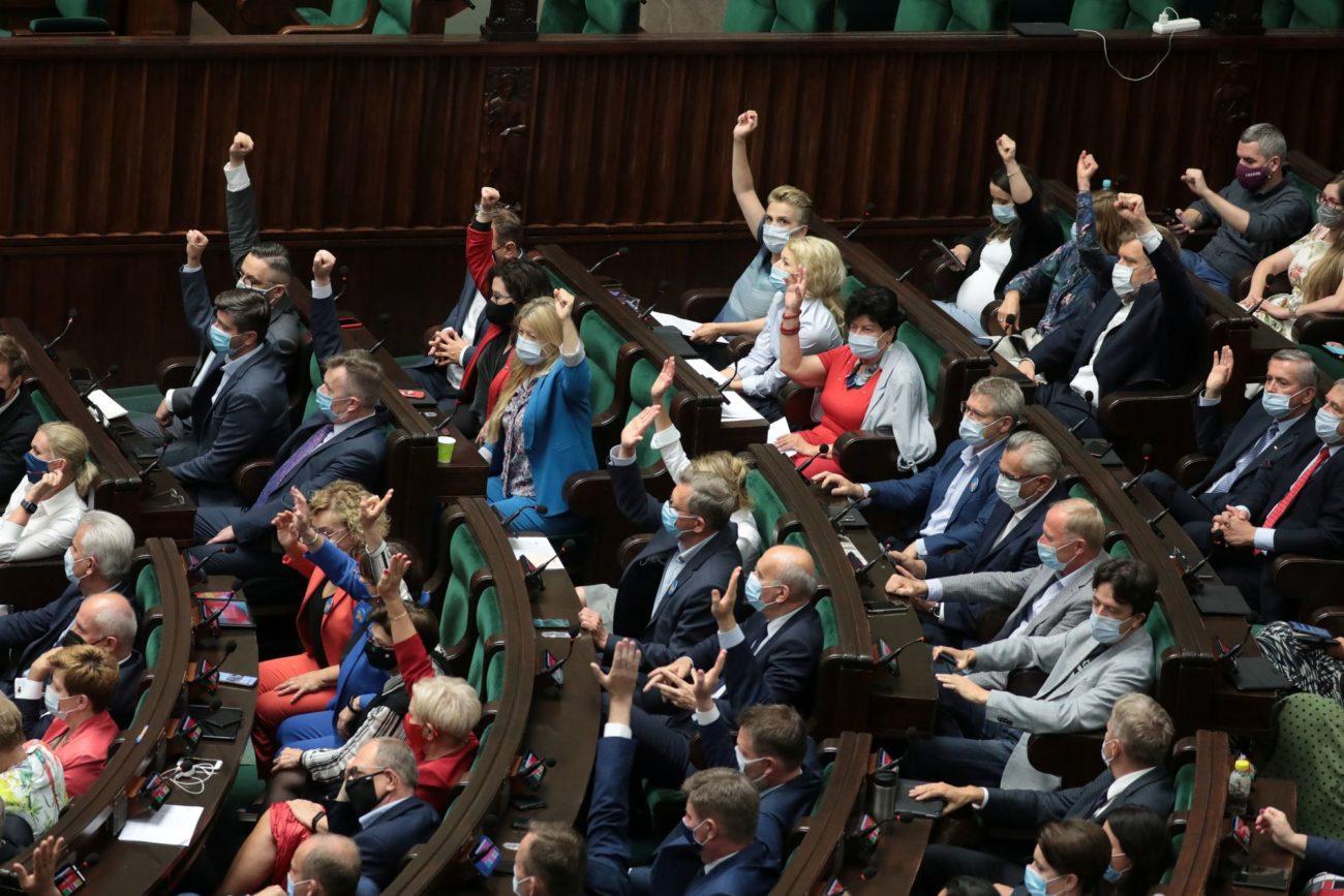 Bruxelles dénonce l'adoption d'une loi sur les médias en Pologne. [Slawomir Kaminski - Reuters]