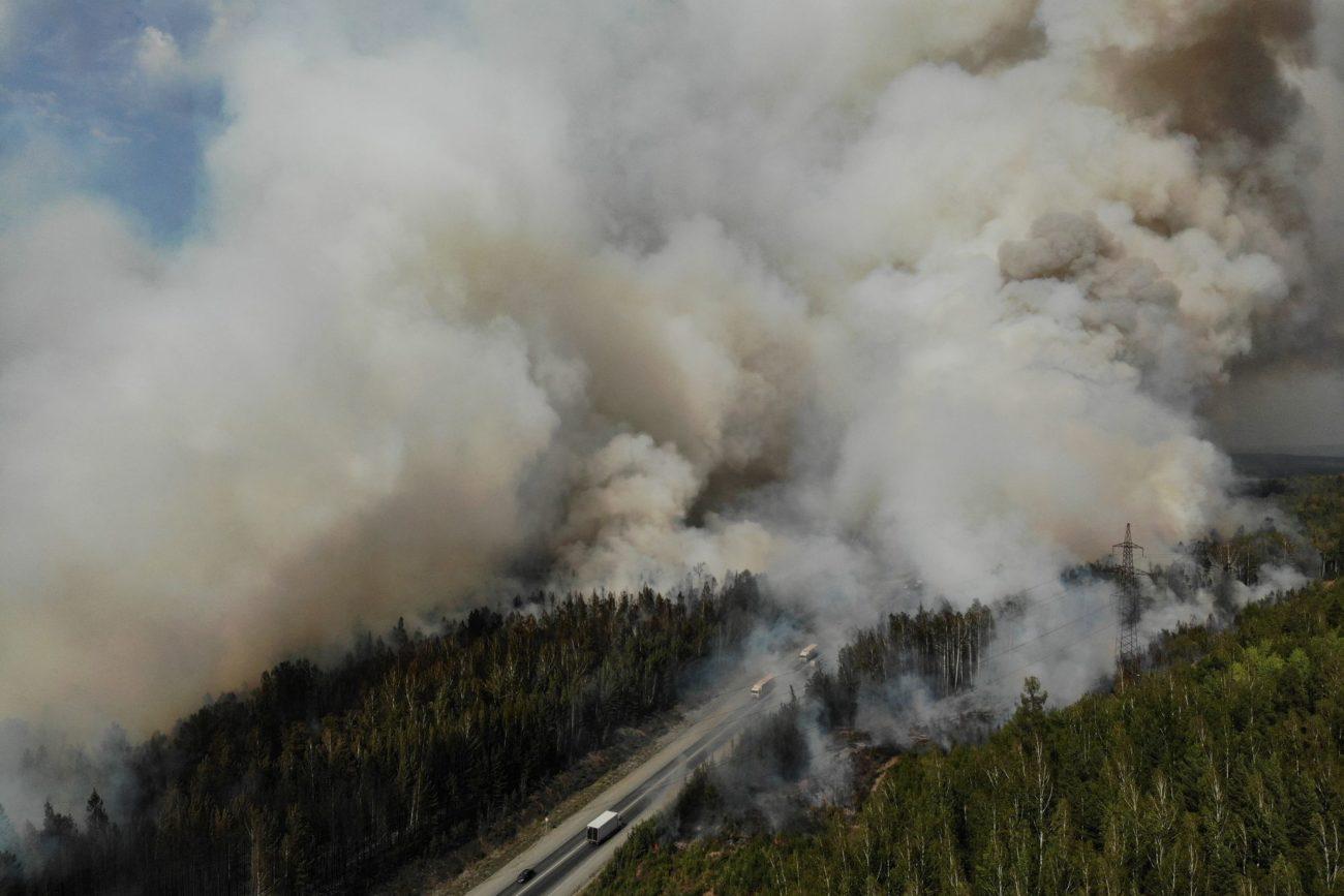 """Des feux de forêt """"extrêmes"""" sévissaient mercredi dans les régions du centre de la Russie"""