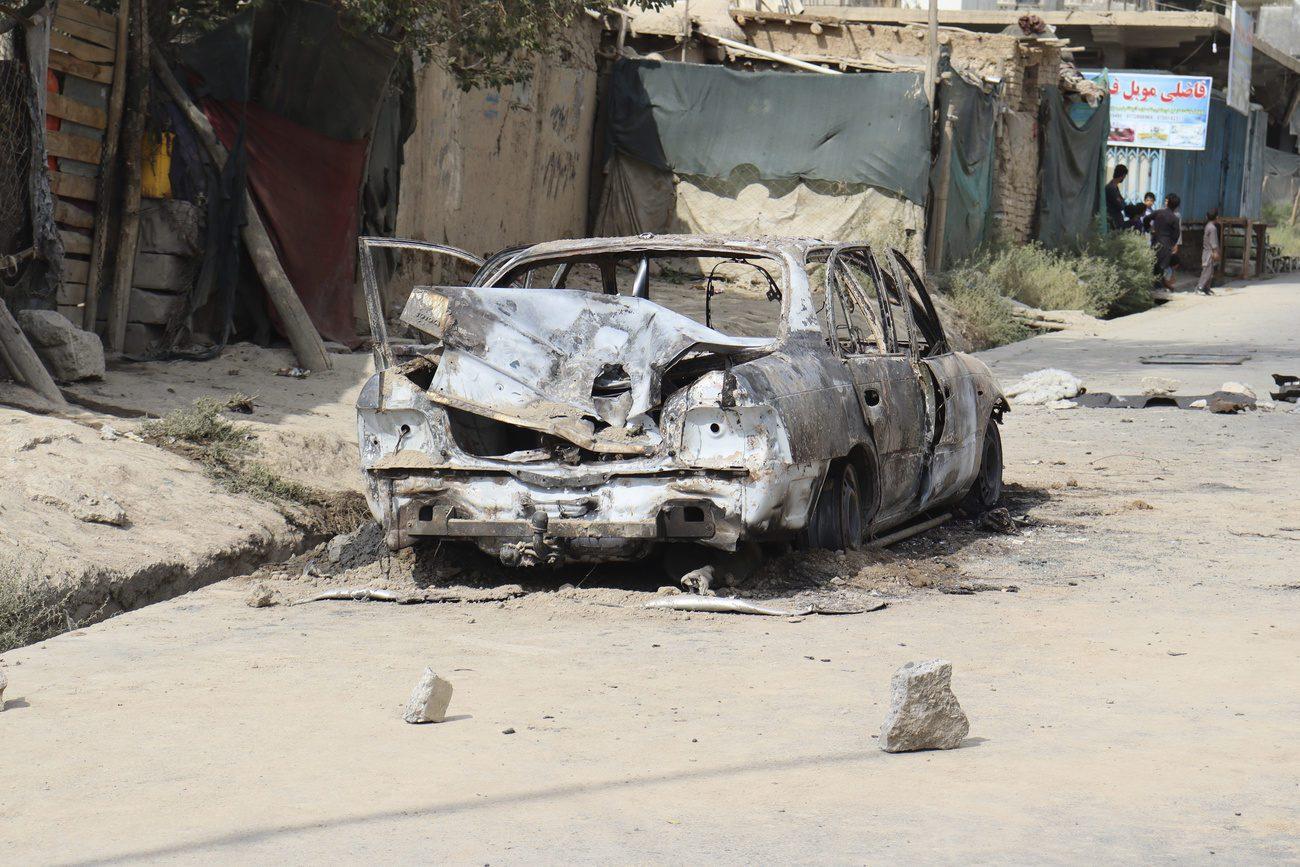 Le groupe EI a revendiqué plusieurs attaques à Kaboul. [Khwaja Tawfiq Sediqi - Ap/photo/Keystone]