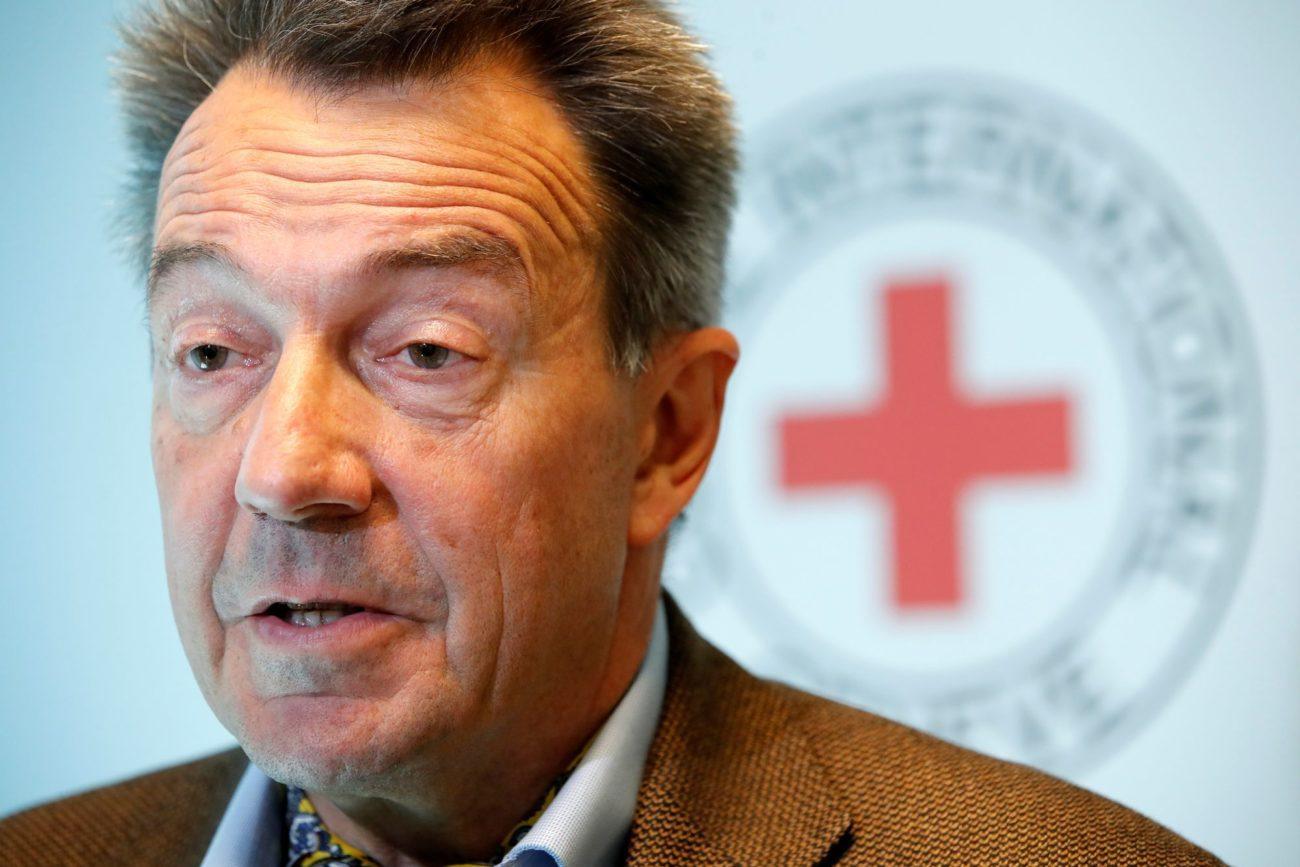 Peter Maurer (ici en 2018) est président du CICR depuis 2012 [Denis Balibouse - Reuters]