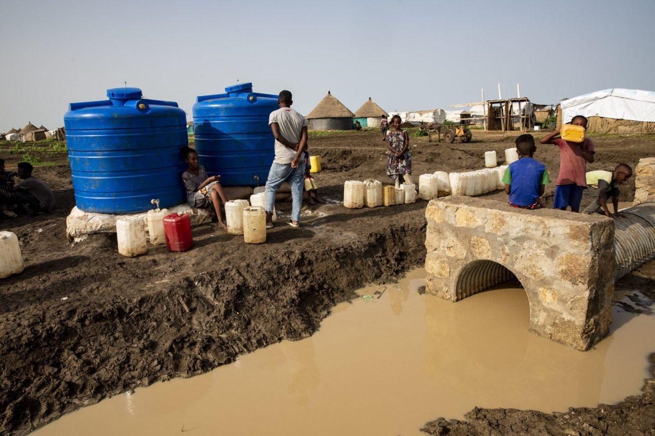 De nombreux Éthiopiens et Éthiopiennes ont trouvé refuge dans des camps au Soudan. [Mahmoud Hjaj - Anadolu Agency via AFP]