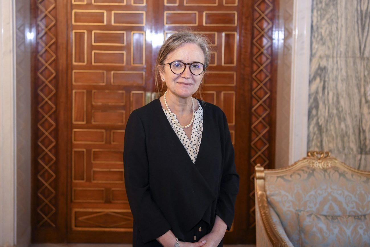 Najla Bouden nommée Première ministre de Tunisie en pleine crise politique. [AFP]
